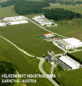 VÖLKERMARKT INDUSTRY PARK and Völkermarkt GIG  The industry park in Völkermarkt covers an area of just under 40 hectares and is in a prime location, 1 km from the motorway (Völkermarkt-Ost junction), providing a direct link with the major routes to Italy, Slovenia and Vienna. Fully developed plots are available to industrial and commercial companies. The Völkermarkt Industry Park also incorporates the GIG (Gründer-, Innovations- und Gewerbezentrum – start-up, innovation and business centre) for companies wishing to rent office and workshop space