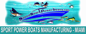 Speed Sport Power Boats manufacturing industry, Miami Florida company produces high speed boats manufacturing company for dealers and distributors in the US and Latin American market